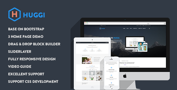 Huggi - Responsive Business Drupal Theme