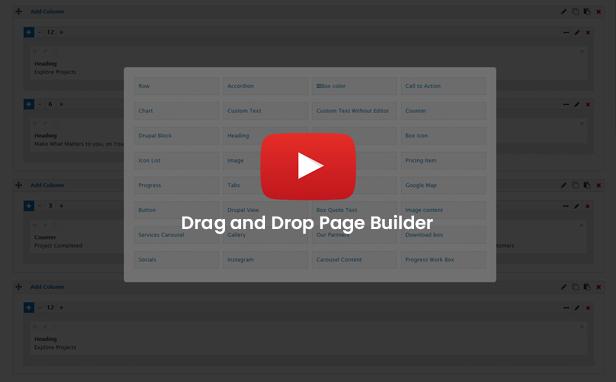 page-builder Jitsin - Crowdfunding Projects & Charity Drupal 8.8 Theme theme WordPress